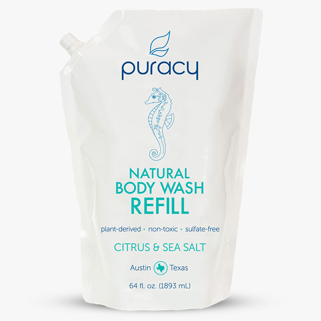Natural Body Wash Refill